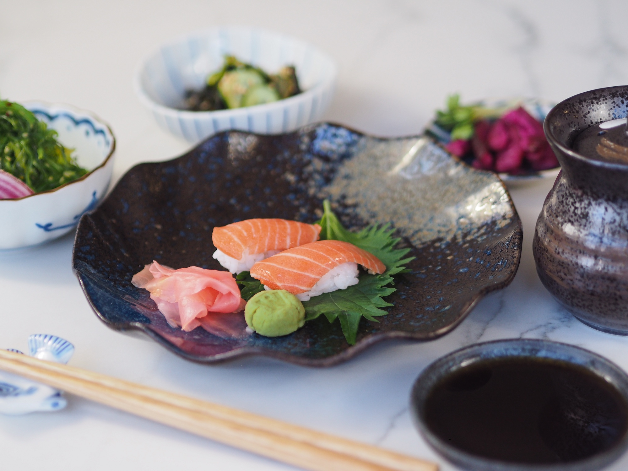 Healthy Salmon for Sushi