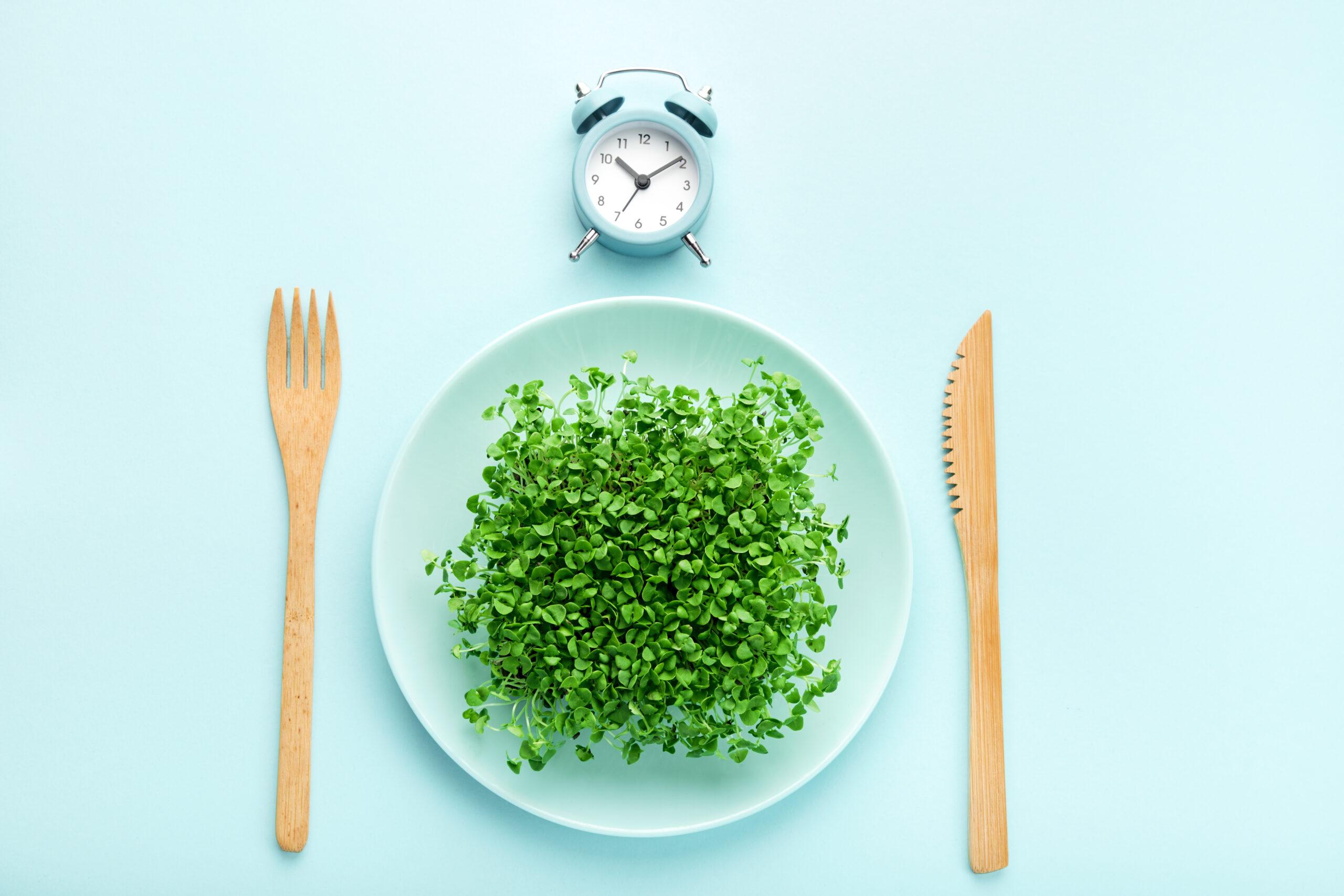 Image of plate for fasting break