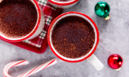 Healthy Holiday Recipe: Salted Dark Drinking Chocolate